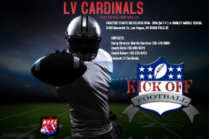 LV Cardinals Youth Football Camp Looking For Players