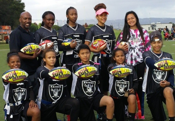 Local Girls Flag Football Team Wins Regional Championship, Heads to NFL Flag National Tournament in January 2015 to Defend National Title