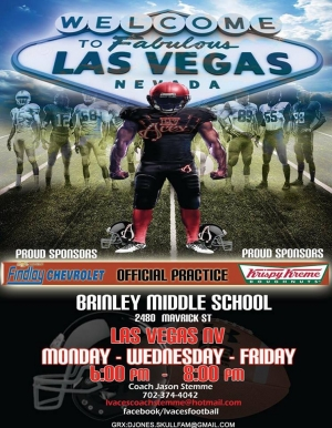 LV Aces Youth Football Team Looking for Players