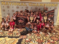LV Aces Cheer Teams Win National Championships