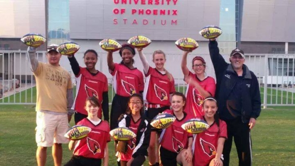 Second Local Girls Flag Football Team Wins Regional Championship, Heads to NFL Flag National Tournament in January 2015