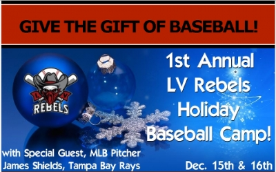 First Annual LV Rebels Holiday Baseball Camp
