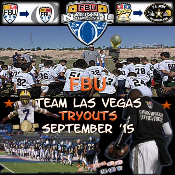 Football University Team Las Vegas Tryouts