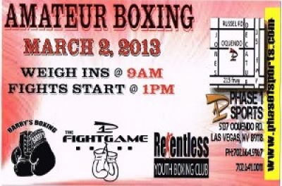 Phase 1 Fight Game Amateur Boxing