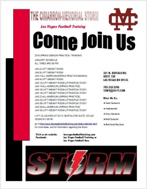 Cimarron Storm Youth Football Program Looking for Players