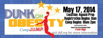 Jump for Joy Foundation Presents Dunk on Obesity 2014